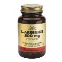 СОЛГАР L-Аргинин 500 мг (50 капсул)