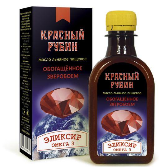 Масло льняное «Красный Рубин»