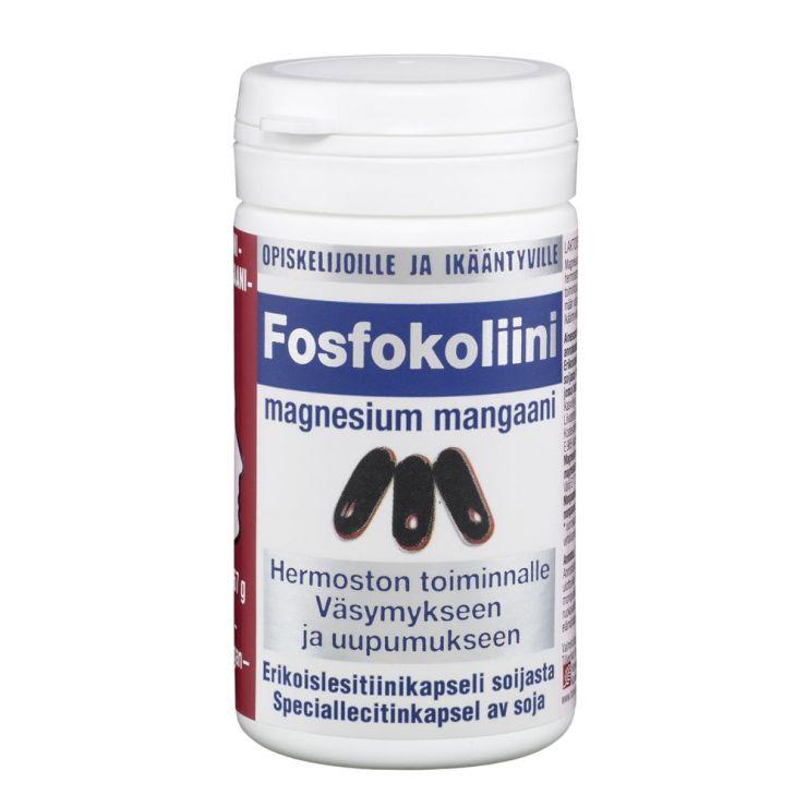 Фосфоколин Магний Марганец / Fosfokoliini -Magnesium-Mangaani