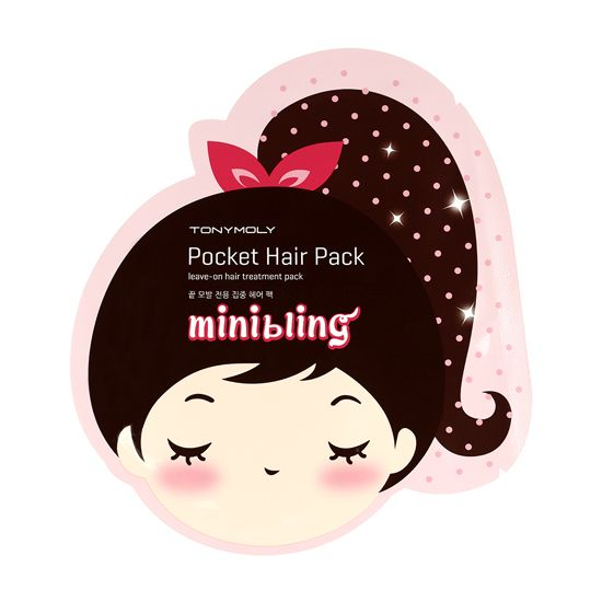 Mini Bling Pocket Hair Pack - Маска для восстановления волос