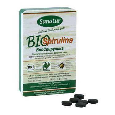 БиоСпирулина, 100 таблеток