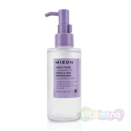 Гидрофильное масло - Mizon Great Pure Cleansing Oil