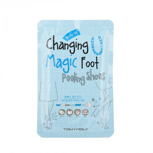 Tony Moly Пилинг для ног Сhanging u magic foot peeling shoes