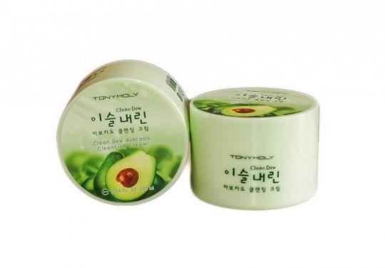Clean Dew Avocado Cleansing Cream - Крем для умывания с экстрактом Авокадо, 200 мл