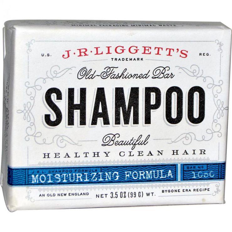 Твердый шампунь для сухих и поврежденных волос, 99 гр.