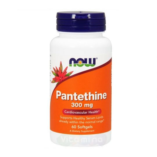 Пантетин (Pantethine) 300 мг, 60 капс.