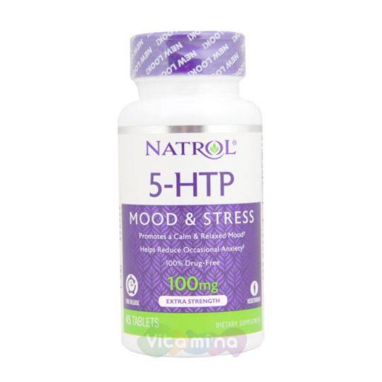 Natrol 5-HTP 100 мг 45 Табл, быстрорастворимые