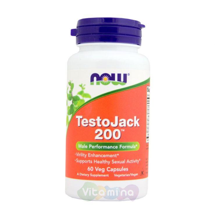 TestoJack 200 (Тесто Джек 200) 60 капс.