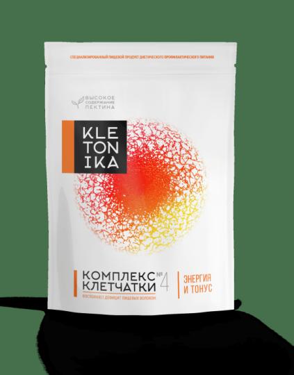 Комплекс клетчатки KLETONIKA №4 Энергия и Тонус